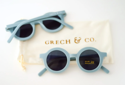 Grech & Co Sustainable Sunglasses -  Light Blue