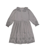 The New Society Beatrice Dress in Soft Blue