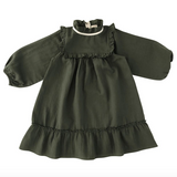 Liilu Liana Dress in Pine