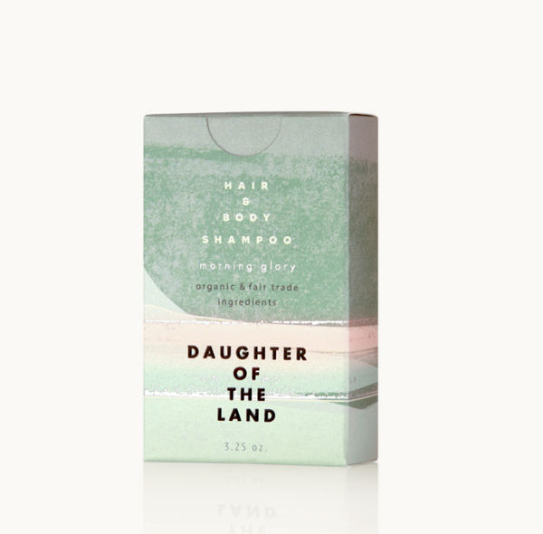 Daughter of the Land Organic Morning Glory Shampoo Bar