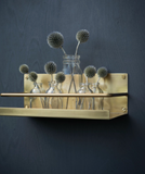 Fog Linen Brass Shelf