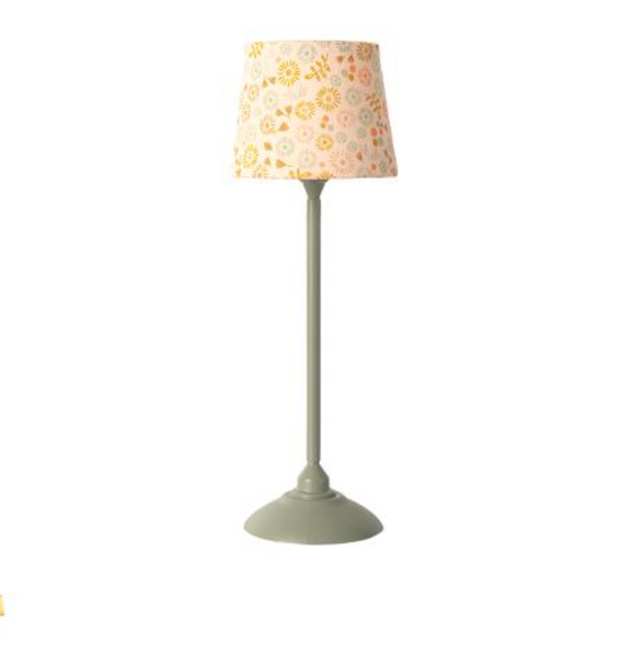 Maileg Floor Lamp in Mint