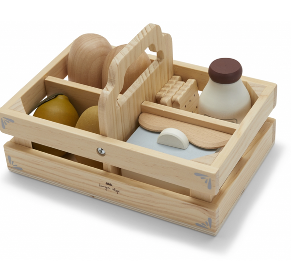 Konges Wooden Food Box