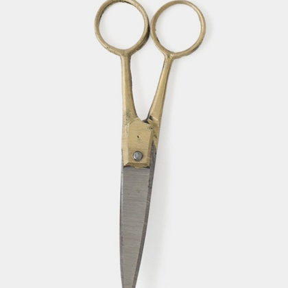 Fog Linen Brass Handled Small Scissors