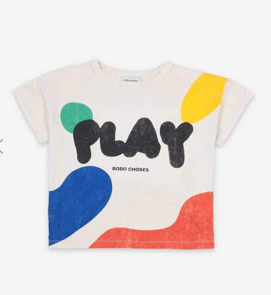 Bobo Choses Play Short Sleeve T-shirt