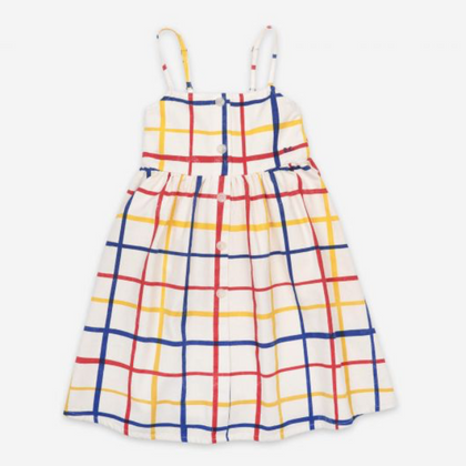 Bobo Choses Checkered Woven Dress