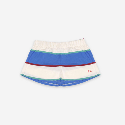 Bobo Choses Stripes Jersey Shorts