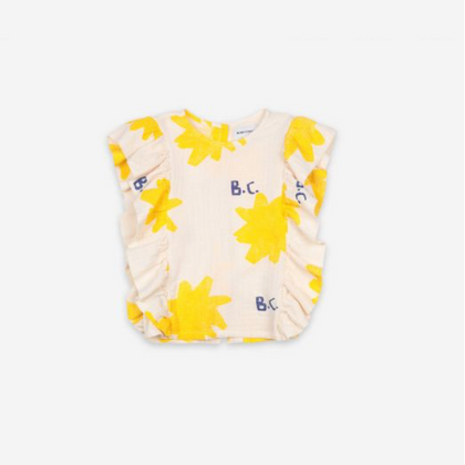 Bobo Choses Sparkle All Over Woven Top