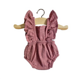 Minikane Retro Cotton Lou Romper in Lurex