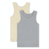 Konges Sloejd Tanks in Lemon/Blue