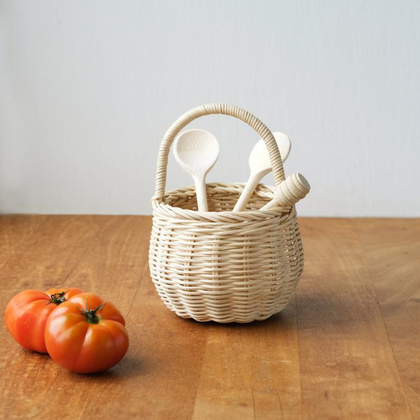 Olli Ella Berry Basket in Straw