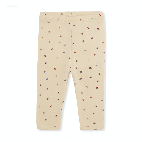 Konges Slojd Newborn Leggings in Bloom