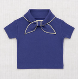 Misha & Puff Ribbed Scout Tee. - Blue Violet