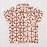 Misha & Puff Railroad Floral Camp Shirt