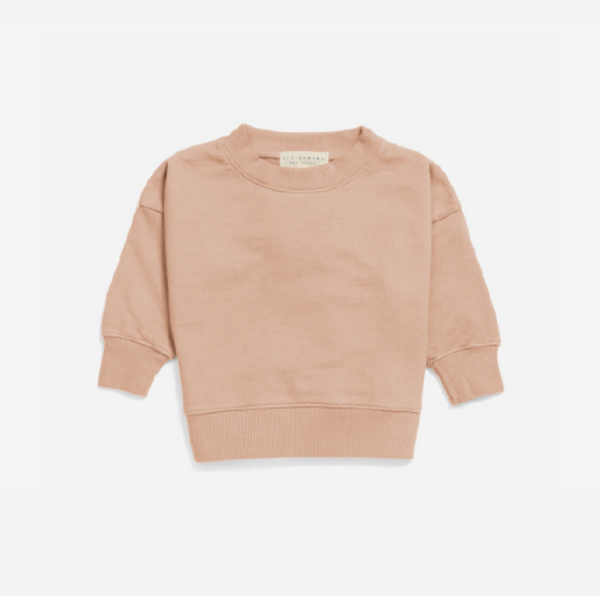 Les Gamins Sweatshirt in Rose