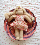 Bonjour Diary Faded Roses Doll Dress