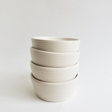 Tellefsen Atelier  - Ribbed Dinner Bowl