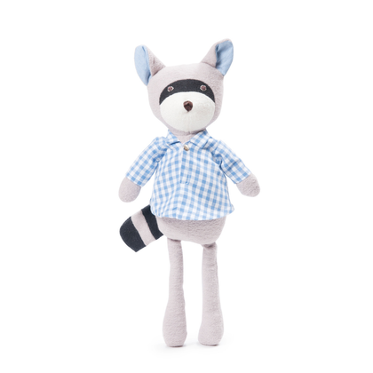 Hazel Village Max Raccoon in Gingham Shirt