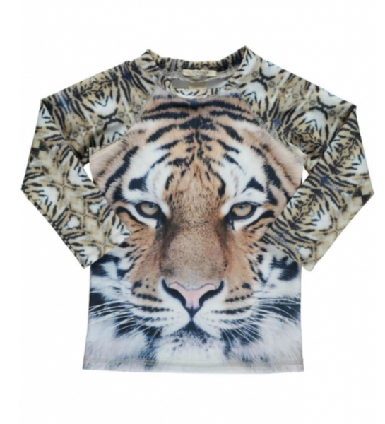Popupshop UV Swim Shirt / Tiger