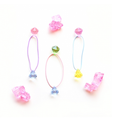 Hello Shiso Candy Gem Pony Tail Holders