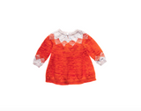 Misha and Puff Pinecone Tunic Dress / Persimmon