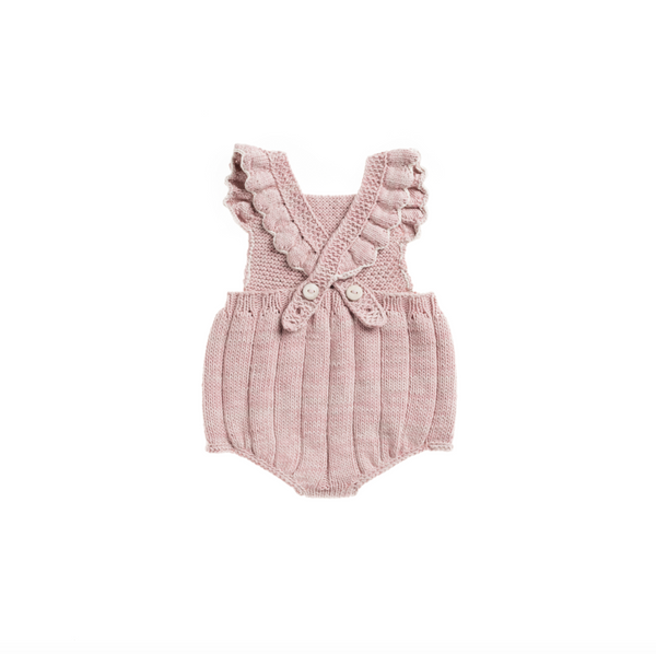Misha and Puff Eleanor Sunsuit / Pink Sand