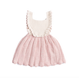 Misha and Puff Louisa Pinafore / Pink Sand
