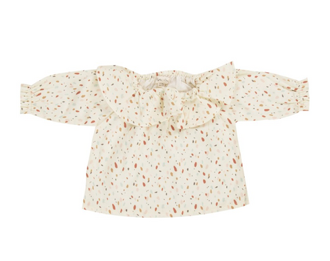 Rylee and Cru Confetti Collar Blouse
