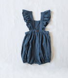 Yoli and Otis Olle Romper Navy