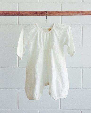 Yoli and Otis Bon Bon Romper in White