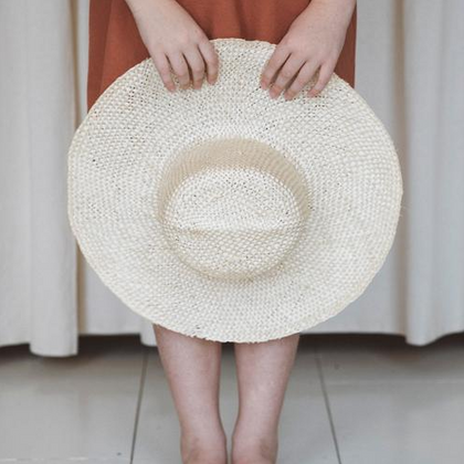 Brookes Boswell Straw Hat