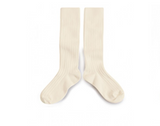 Collegien Knee Socks - Cream