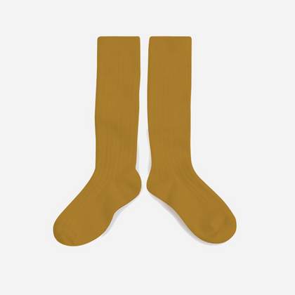 Collegien Knee Socks - Mustard