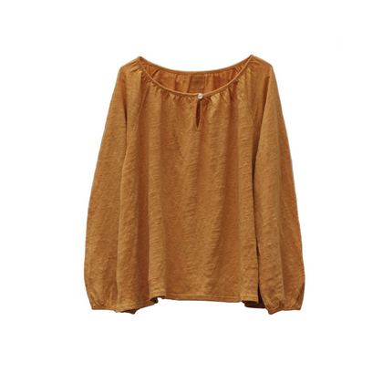 Le Petit Germain Jane Blouse  - Melon