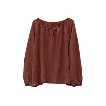 Le Petit Germain Jane Blouse  - Bush