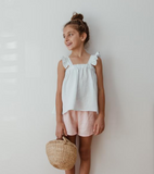 Liilu Kids Sarah Short in Light Pink