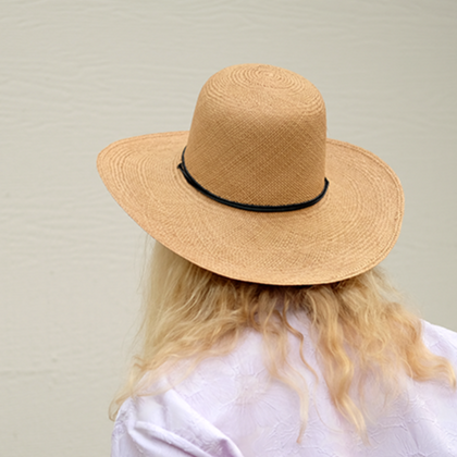 Brookes Boswell Women's Suncrest Hat in Panama Straw
