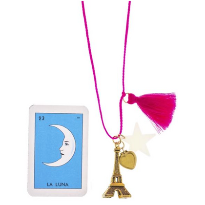 Gunner and Lux 'Paris is always a good idea' Necklace