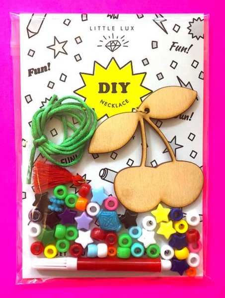Gunner and Lux DIY Cherries Necklace Kit