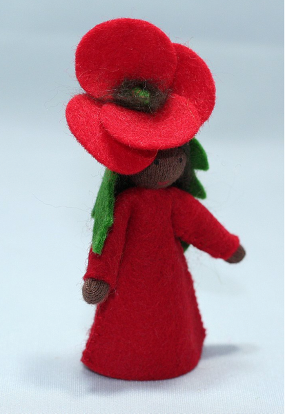 FAIRIES Red Poppy Fairy