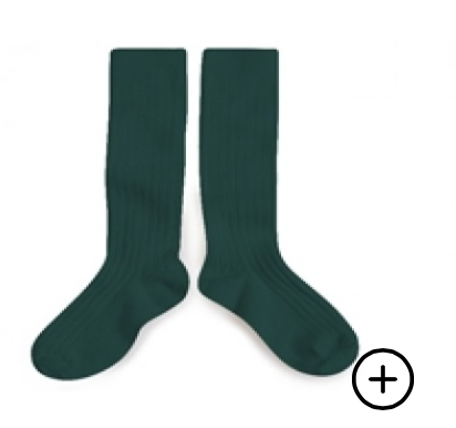 Collegien Knee Socks - Fond Marin
