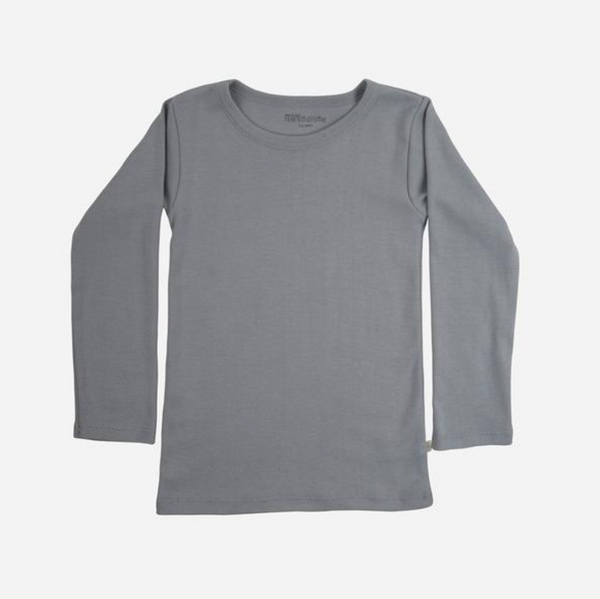 Minimalisma Organic Cotton Nimbus LS Top - Powder Blue