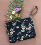 Bonjour Diary Quilted Floral Clutch