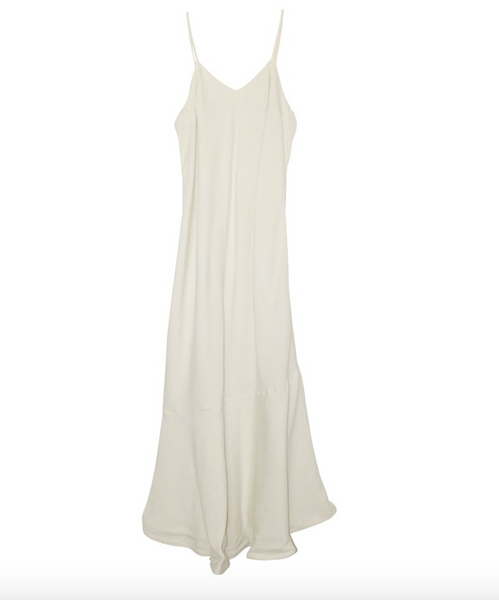 Nico Nico Rayon Bias Slip Dress in Ecru