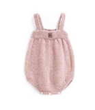 Tocoto Vintage Knitted Body with Suspenders in Pink