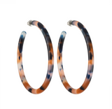 Machete Large Hoops in Fortune