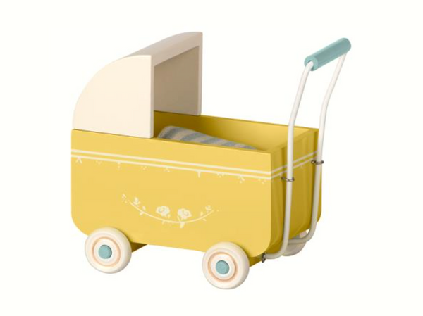 Maileg Pram for My in Yellow