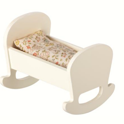 Maileg Cradle, Baby Mouse