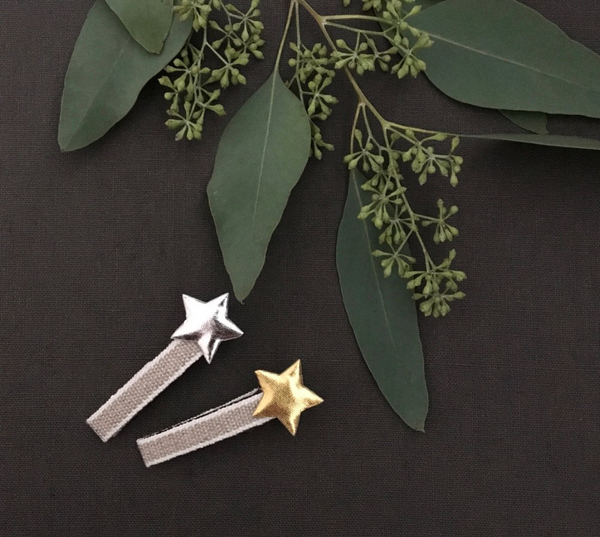 Lulu Loves Rustic Star Clips