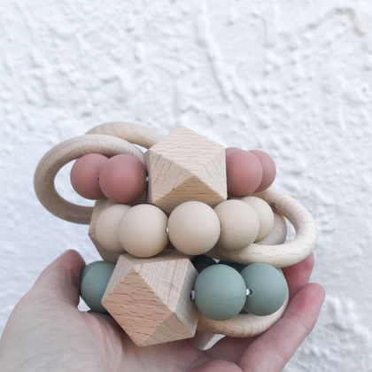 Dove and Dovelet Saturn Teethers